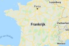 kaart-Frankrijk