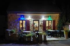 restaurant Le Damier in Fontanières
