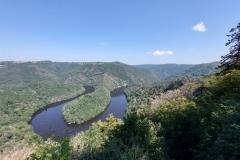 Panorama du Meandre de Queuille