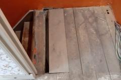 houten vloer uit Enkhuizen komt ook hier weer van pas